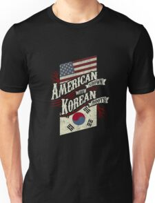 American Grown with Korean Roots copy Unisex T-Shirt