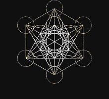 Metatron's Cube [Tight Cluster Galaxy] | Sacred Geometry Unisex T-Shirt