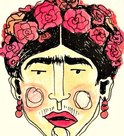 FRIDA KAHLO. Sticker