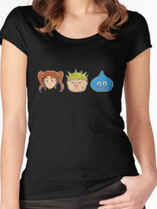 Jessica, Yangus, Slime (Dragon Quest) Women's Fitted Scoop T-Shirt