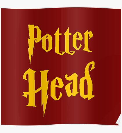 Potter Head Poster
