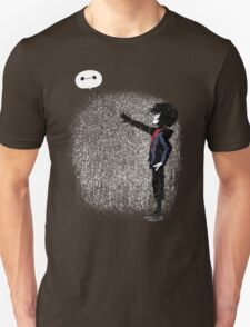 Boy with Robot Unisex T-Shirt