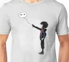 Boy with Robot Unisex T-Shirt