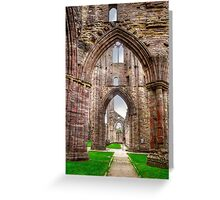Tintern Abbey Interior View IV Greeting Card