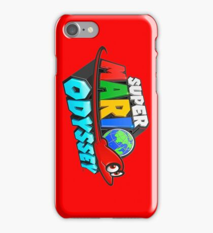 Super Mario Odyssey  iPhone Case/Skin