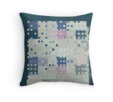 Antidots art pattern - 058055158 c2 Throw Pillow