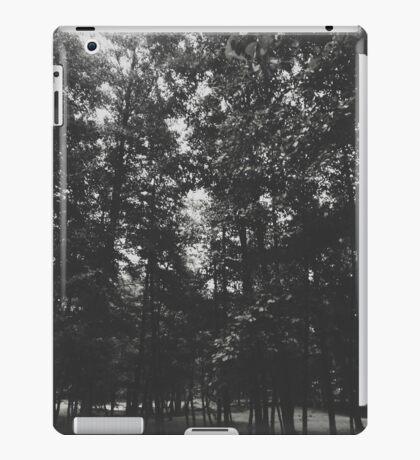 Grayscale Woods iPad Case/Skin