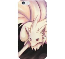 Stand Back :: Ninetails iPhone Case/Skin