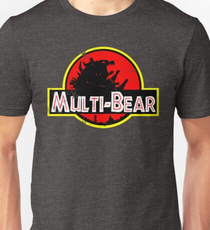 Multi-Bear Worn Unisex T-Shirt