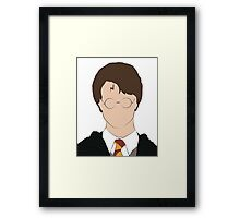 Minimalist Harry  Framed Print