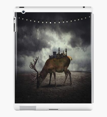 strong animated  Deer iPad Case/Skin
