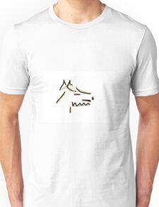 Abstract Terrier Unisex T-Shirt