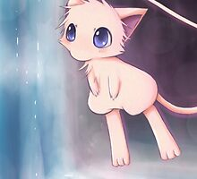 Waterfall :: Mew by sunshineikimaru