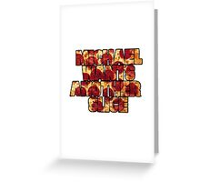 5 Seconds of Pepperoni  Greeting Card