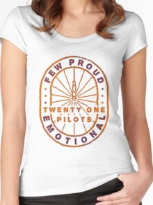 21 pilots Women's Fitted Scoop T-Shirt