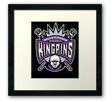 Kingpins Framed Print