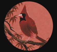 Red Cardinal from Amphai Kids Tee
