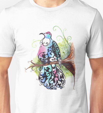Tui- singer of the bush Unisex T-Shirt