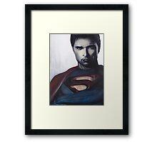 Smallville Savior  Framed Print