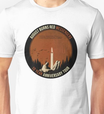 August Burns Red 10 Year Messengers Tour Unisex T-Shirt