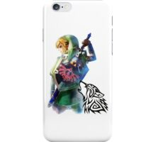 Zelda Link with Wolf iPhone Case/Skin