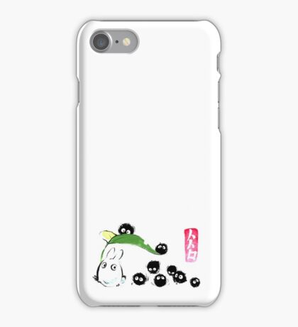 Ink forest iPhone Case/Skin