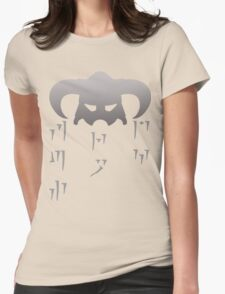 Fus Ro Dah - In Dragon Language Womens Fitted T-Shirt
