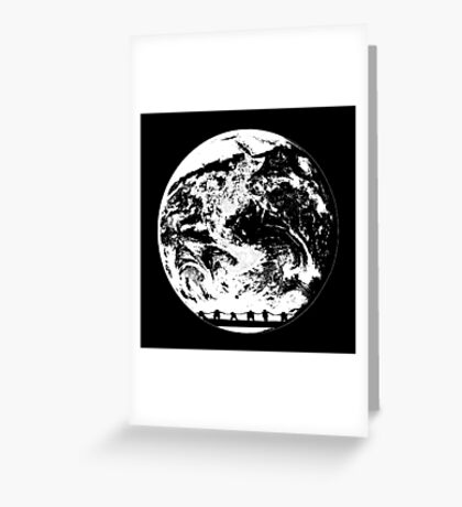 Earth need more peace Greeting Card