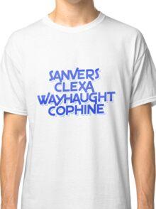 lesbian tv ships Classic T-Shirt