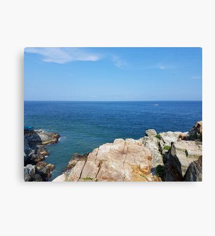 Korean Cliffside Canvas Print
