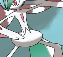 Mega Gallade Sticker