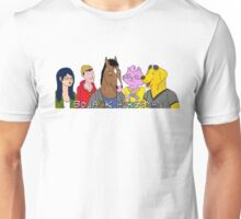 Bojack Horseman Characters Unisex T-Shirt