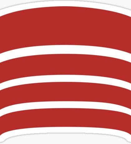 Frank Lloyd Wright Logo - NYC Guggenheim Museum Sticker