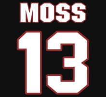 NFL Player Dale Moss thirteen 13 by imsport