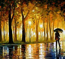 Bewitched Park — Buy Now Link - www.etsy.com/listing/126202540 by Leonid  Afremov