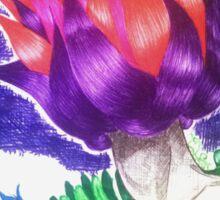 Flowerhead Female Sticker