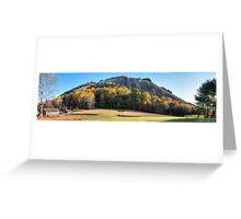 stone mountain | homestead/dome panorama Greeting Card