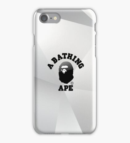Bape 3D/Triangular Design iPhone Case/Skin