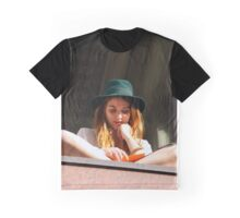 Green Hat Graphic T-Shirt