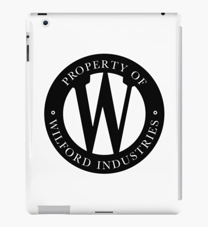 Wilford Industries iPad Case/Skin