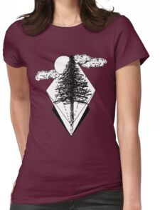 Pining for Trees Womens Fitted T-Shirt