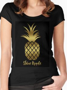 Shine Apple Women's Fitted Scoop T-Shirt