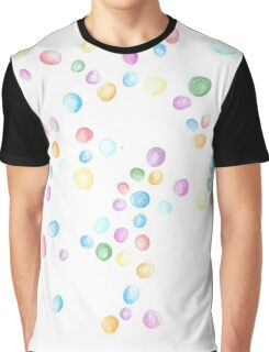 Abstract Candy Graphic T-Shirt