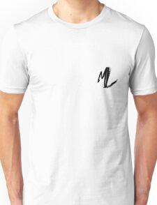 """Matthew Lesiuk - """"Initials""""  Unisex T-Shirt"""