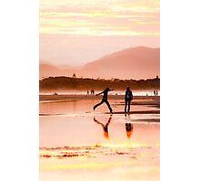 Byron Bay Sunset Leap Photographic Print