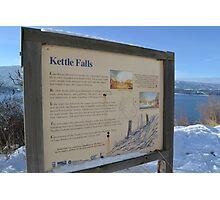 Kettle Falls Photographic Print