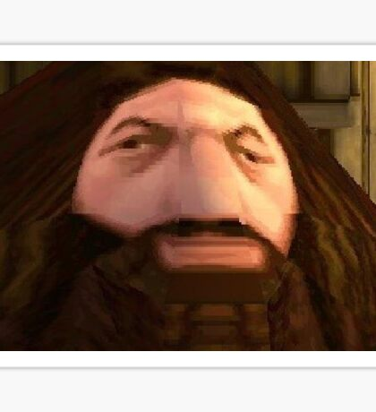 PS1 Hagrid (Haggord) Sticker