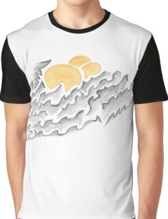 Abstract Silly Duck Graphic T-Shirt