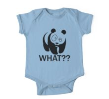panda what? One Piece - Short Sleeve
