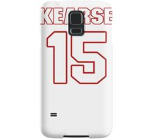 NFL Player Jermaine Kearse fifteen 15 Samsung Galaxy Case/Skin